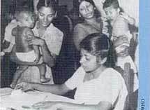 Maternal and child health service in Sri Lanka